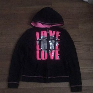Black Justice Sweater Size 14 Love